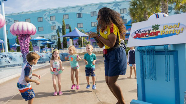 Disney Junior Pool Parties at Walt Disney World Resort