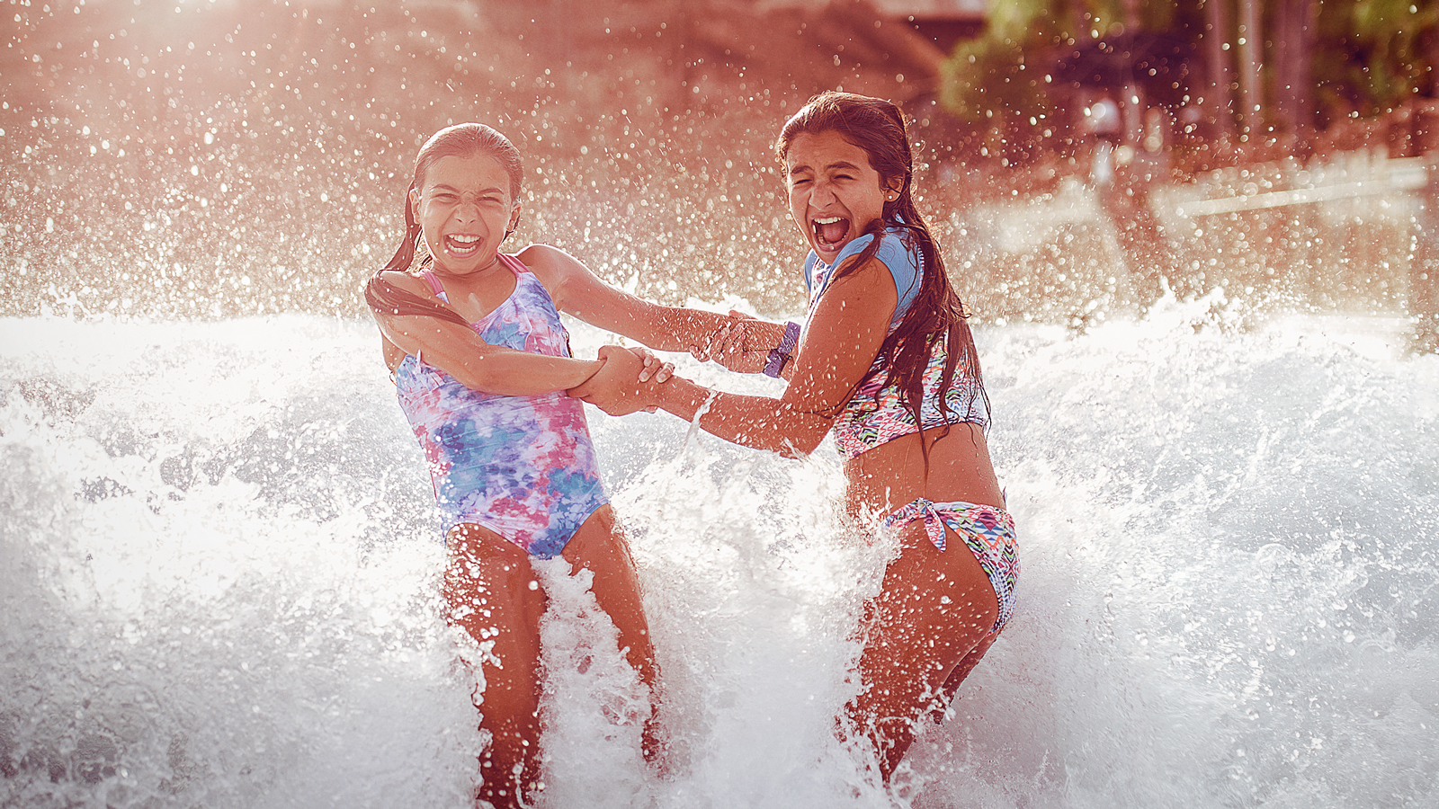 Enjoy Thrills & Chills at Two Splash-Tastic Water Parks