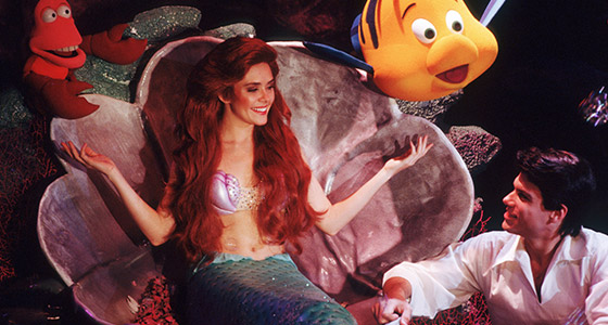 Ariel and Prince Eric at Magic Kingdom Park