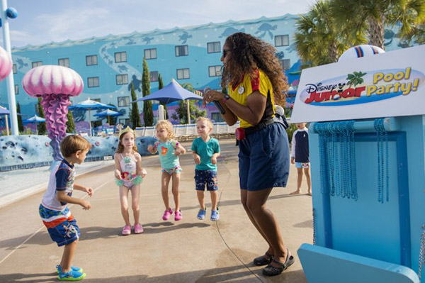 Disney Junior Pool Parties à Walt Disney World Resort