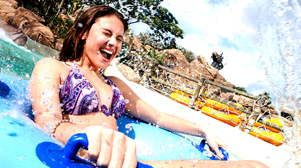 Enjoy Thrills & Chills at Two Splash-Tastic Water Parks