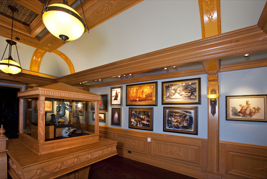 Disney Gallery at Disneyland
