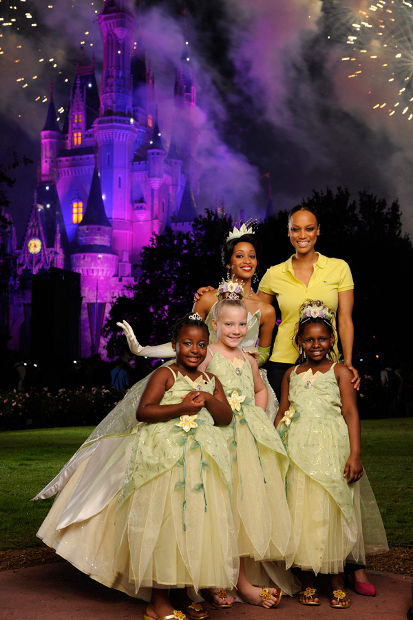 Tyra Banks Princess Tiana at Walt Disney World  Disney Parks Blog