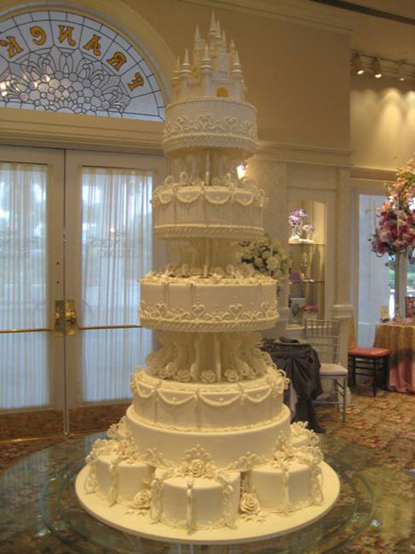 Amazing Cakes Offered At Disneys Fairy Tale Weddings