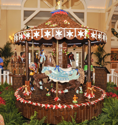 The Edible Carousel at Disney's Beach Club Resort