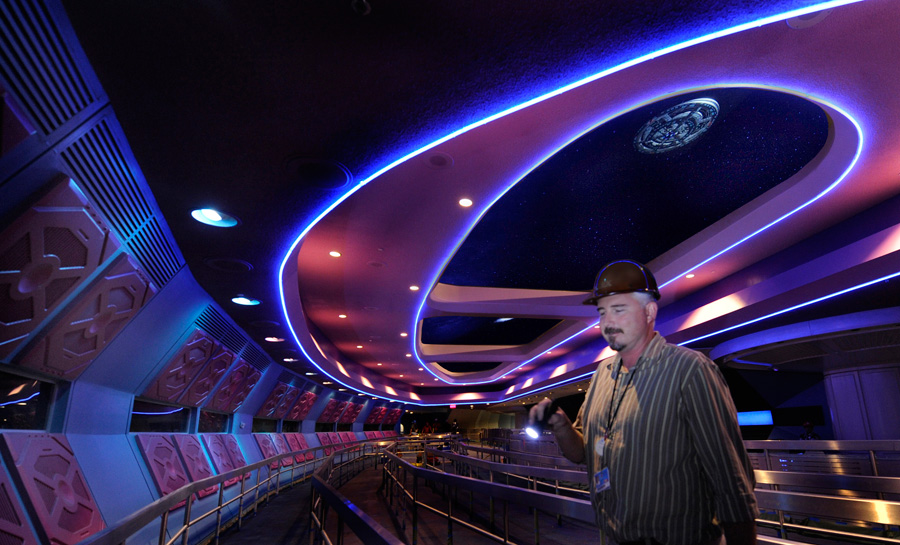 Space Mountain Attraction Update Disney Parks Blog - Space track