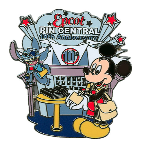 10th Anniversary of Pin Central pin