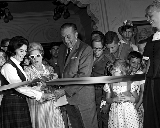 The Official Opening of the Main Street Opera House