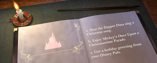 Mickey's Very Merry Christmas Party Interactive Storybook
