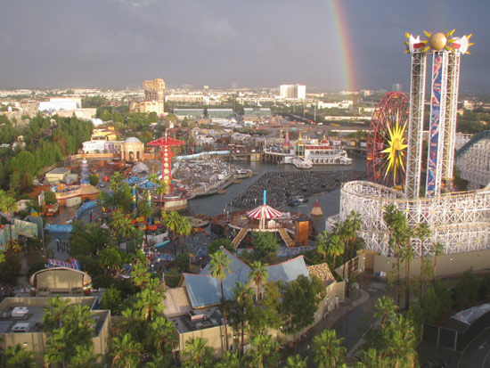 Rainbow at World of Color