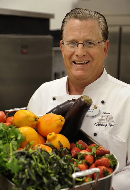 Chef Frank Brough