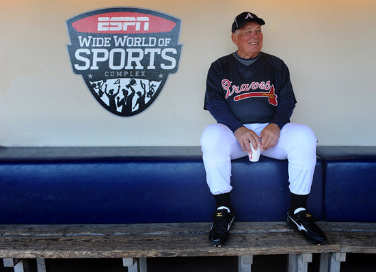 Atlanta Braves Manager Bobby Cox