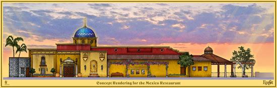 Cantina de San Angel Expansion at Epcot