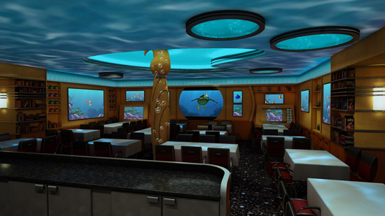 Animator's Palate on the Disney Dream