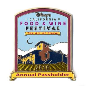 Disney's California Food & Wine Festival Pin