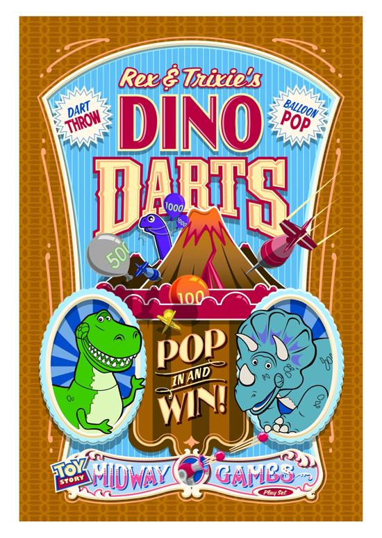 Rex and Trixie's Dino Darts