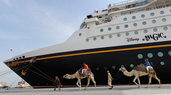 Disney Cruise Line's First Mediterranean Sailing of 2010