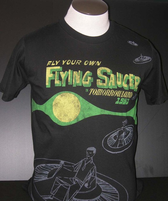 Flying Saucers Retro Inspired Tee