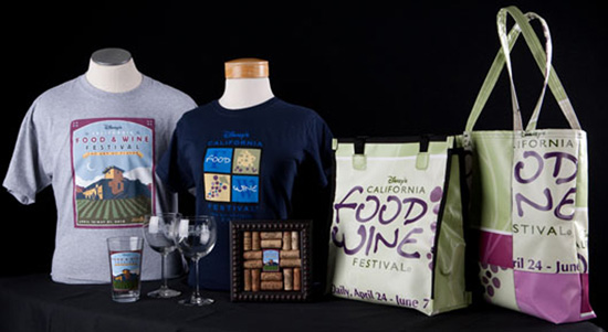 Disney's California Food & Wine Festival Merchandise