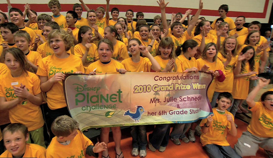 Disney's Planet Challenge Winners