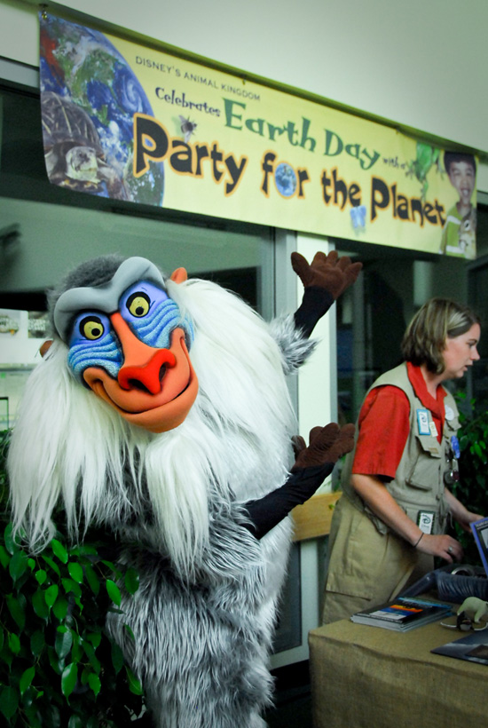 Party for the Planet on Earth Day at Disney's Animal Kingdom