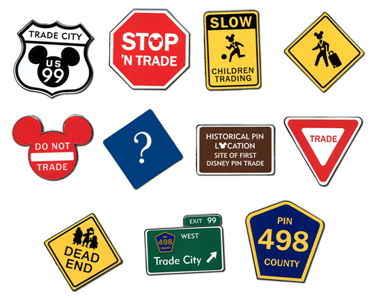 Trade City Road Signs