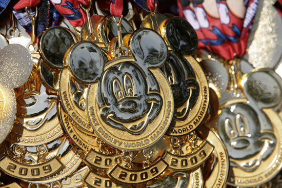 Walt Disney World Marathon Medal