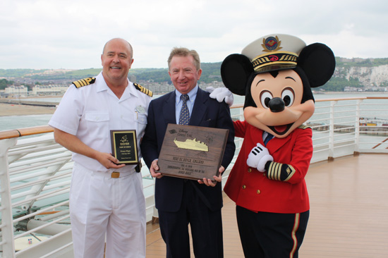 Disney Magic Inaugural Call Ceremonies