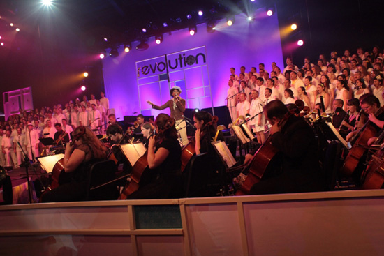Encore! Cast Choir and Orchestra
