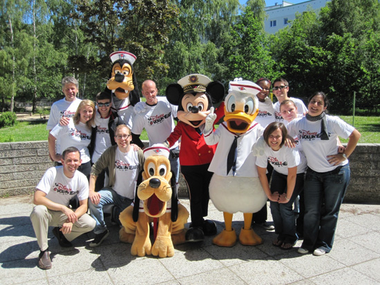Disney Cruise Line Gives Back to Port Communities in Europe
