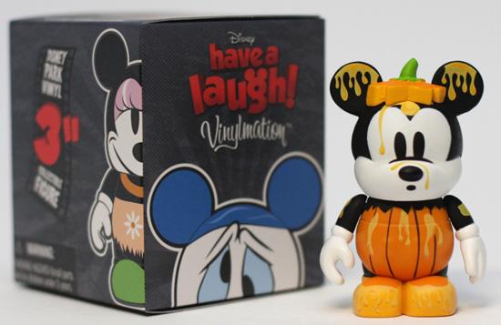 Mickey's Garden Pumpkin Figure