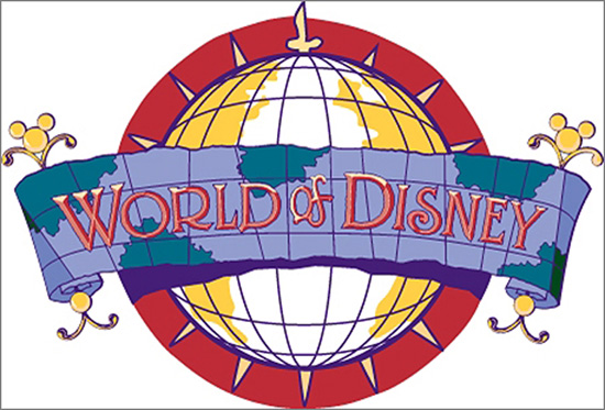 World of Disney logo