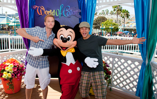 Neil Patrick Harris at Disney California Adventure Park
