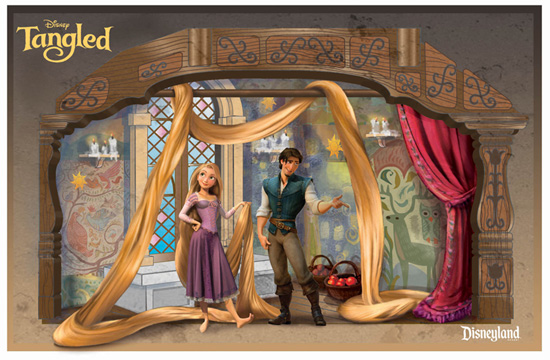 Rapunzel Meet-and-Greet Location at Disneyland Park