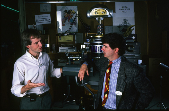 Tom Fitzgerald and George Lucas