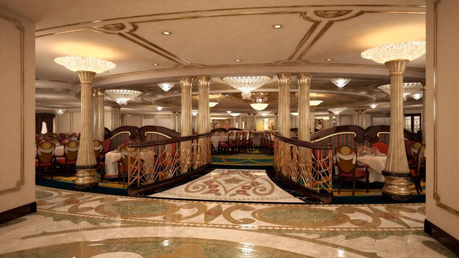 A Royal Palace At Sea Aboard The Disney Dream Disney