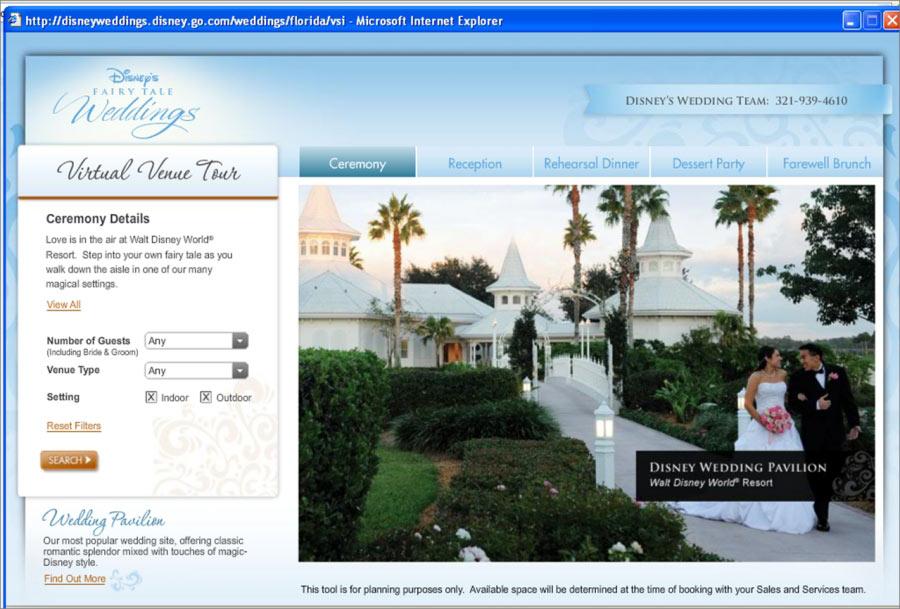 Virtual Venue Tour Website