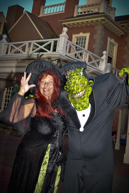 Disney Guests in Halloween Costumes