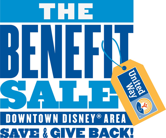 The Benefit Sale at Downtown Disney