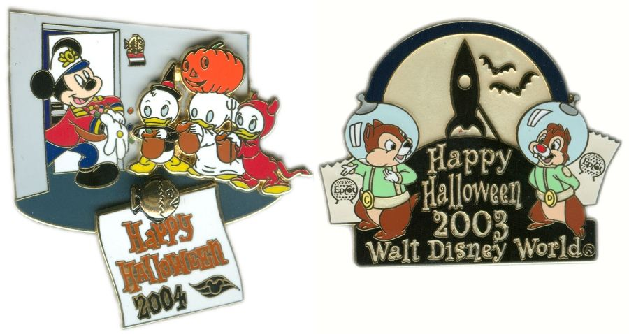 Halloween Pins From the Past