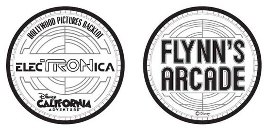 Flynn's Arcade Token Concept & Design