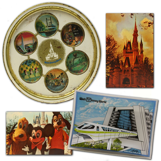 Vintage Walt Disney World Souvenirs