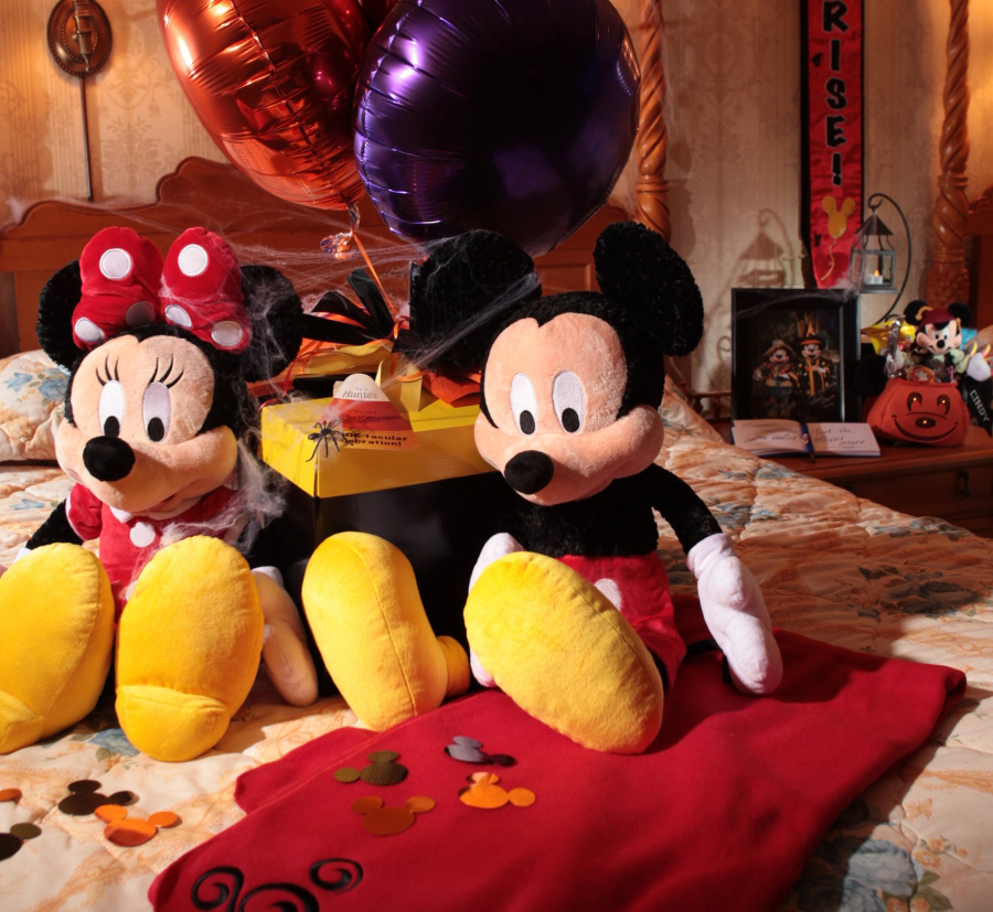 New Halloween In-Room Celebrations At Disney Parks