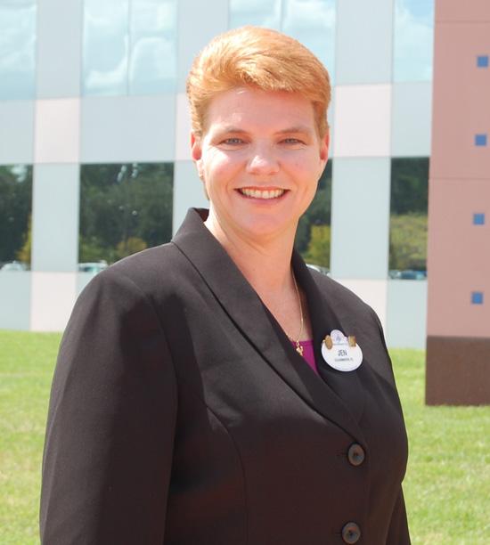 Jennifer Mason of the 2011-2012 Walt Disney World Ambassador Team