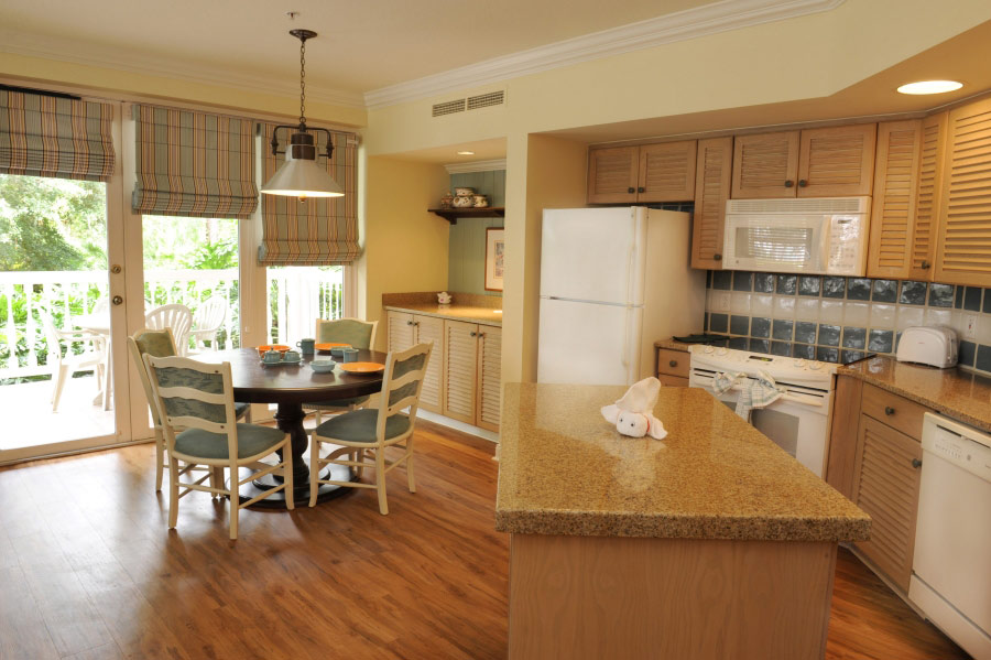 Newly Renovated Kitchen At Old Key West Villas