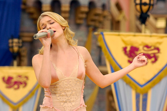 LeAnn Rimes Performs 'Remember When' Live at Disneyland Park's 50th Anniversary Celebration in 2005