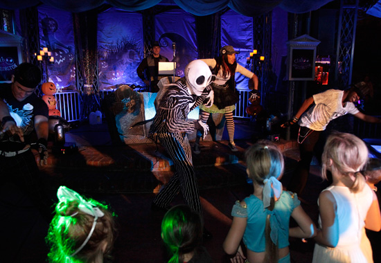 Club Skellington at Mickey's Halloween Party