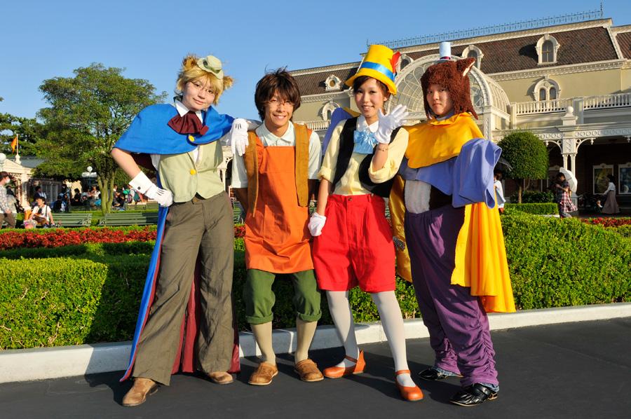 ... Tokyo Disneyland Guests in Halloween Costumes ...  sc 1 st  Disney Parks & A View Fromu2026Tokyo Disneyland | Disney Parks Blog