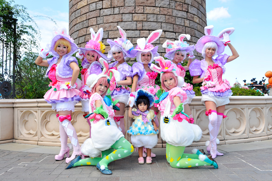 ... Tokyo Disneyland Guests in Halloween Costumes  sc 1 st  Disney Parks & A View Fromu2026Tokyo Disneyland | Disney Parks Blog