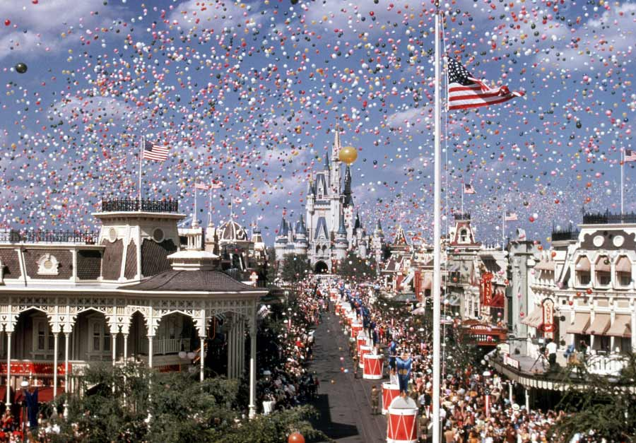 This day in history walt disney world resort officially opens opening day at walt disney world resort freerunsca Choice Image